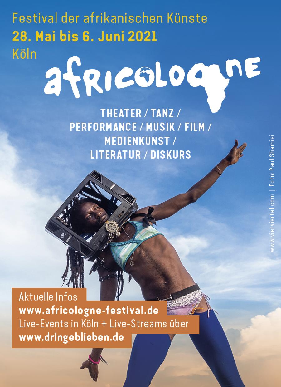 Keyvisual Africologne Festival 2021